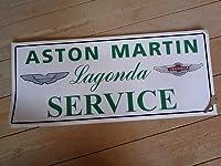 Aston Martin Lagonda Sales & Service Sticker アストンマーチン ステッカー デカール シール 海外限定 600mm x 250mm [並行輸入品]