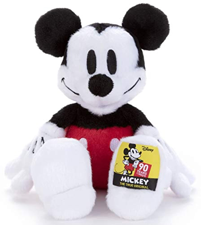 ディズニーキャラクター 90周年 ぬいぐるみS ミッキーマウス 高さ約23cm