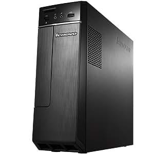 Lenovo H30 省スペースデスクトップパソコン Windows8.1 Update 64bit AMD 4GB 500GB DVDスーパーマルチドライブ Radeon R2 グラフィックス SDカードスロット USBキーボード&マウス付属
