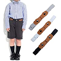 No Buckle Belts for Boys Girls - Adjustable Invisible Stretch Belts for Baby/Toddler