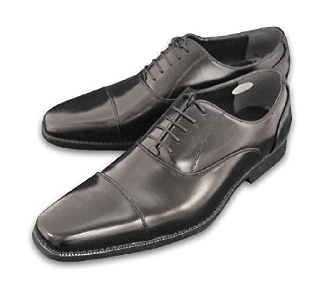 レンディションバイバイ高めるビジネスシューズ TAKEZO(タケゾー) 紳士靴 防水 メンズ ストレートチップ TK175BL ブラック