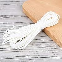 金色の秋 マスクゴム タイプ ホワイト 手作り 白 ひも 手芸 ハンドメイド 裁縫 10m