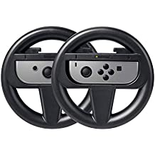 Zecti Joy-con Steering Wheel Handle for Nintendo Switch (2 Set)