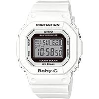 [カシオ] 腕時計 ベビージー 電波ソーラー BGD-5000-7JF ホワイト