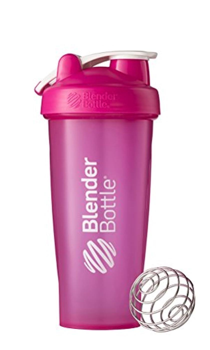 増幅する薄暗い討論Blender Bottle(ブレンダーボトル) 【日本正規品】 Blender Bottle Classic w/Loop Full‐Color 28オンス(800ml) BBCLWL28FC PK