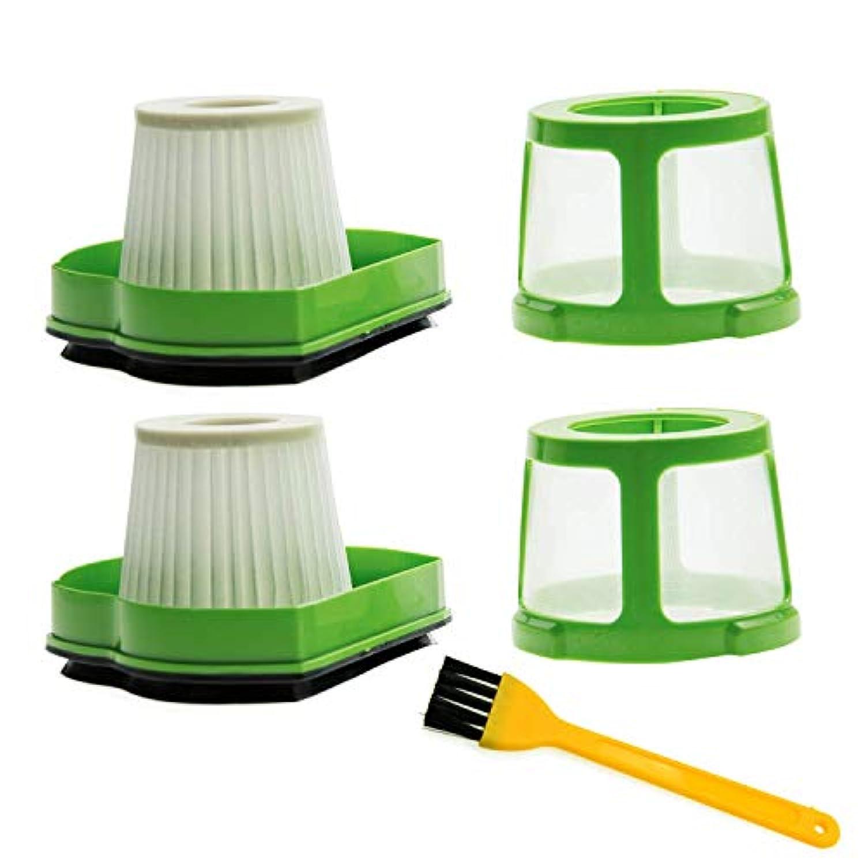 Skros for Bissell 1782 17823ペットヘア消しゴムコードレス手と車掃除機ペット真空フィルタ# 1608653