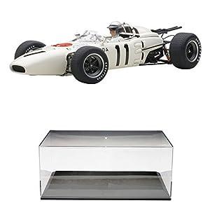 【セット商品】 AUTOart 1/18 ホンダ RA272 F1 1965 #11 メキシコGP 優勝 (リッチー・ギンサー/ドライバーフィギュア付き) + ディスプレイケース