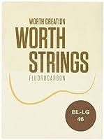 Worth Strings BL-LG ウクレレ弦 ブラウンライトLow-G 46 インチ フロロカーボン