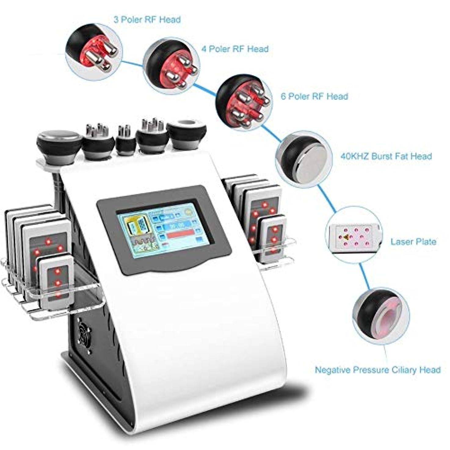 取り替えるうそつき苦いマッサージ、フェイスケアボディスリミングシェーピング治療装置の機械、40Kプロフェッショナル脂肪マッサージ、美容R/F多極真空ツールリフティングスキンをシェーピングボディ、スキンケアSPAは、脂肪、脂肪燃焼しわ除去機を削除します