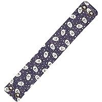 弓具 弦巻 吊り革 柄 うさぎ 紫×白 山武弓具店 【C-149】