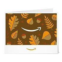 Amazonギフト券- 印刷タイプ(PDF) - Amazonスマイル(秋)