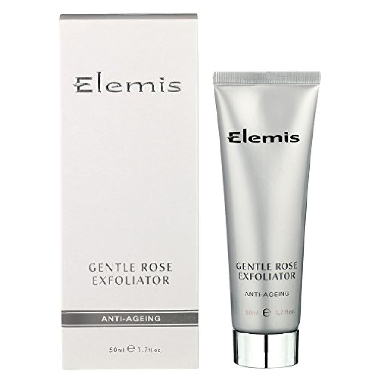 糸オーバーフロー彼らはエレミスは穏やかなエクスフォリエーターをバラ (Elemis) - Elemis Gentle Rose Exfoliator [並行輸入品]