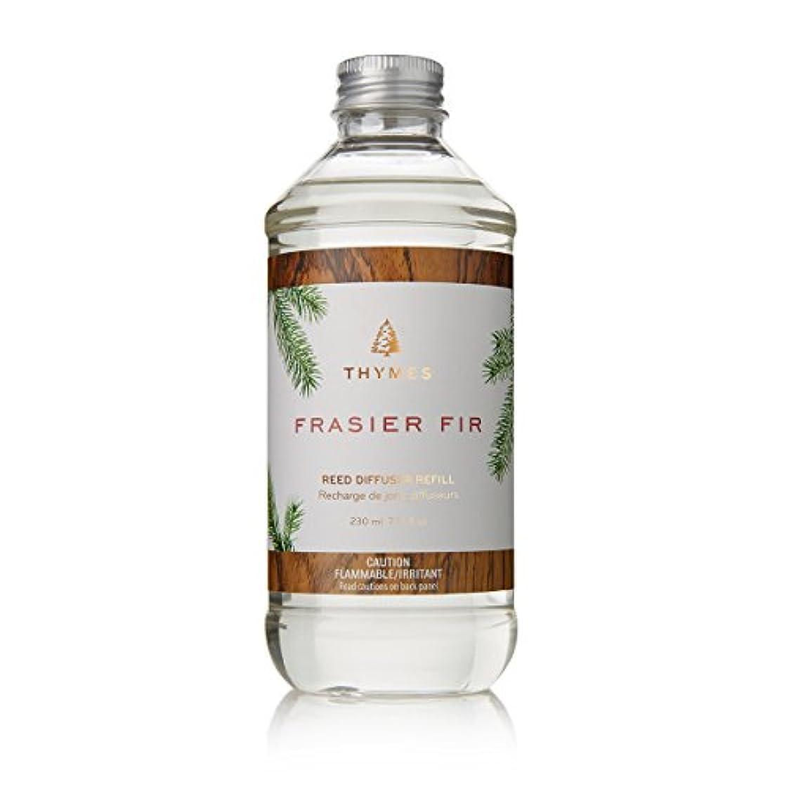 平和的スリーブ珍味Thymes Fraiser Fir Reed Diffuser Oil Refill, 7.75 fl oz (230ml) by Thymes