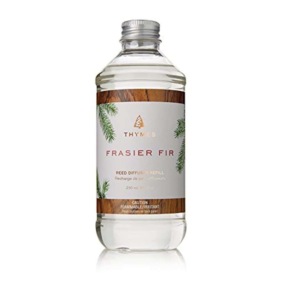 堤防大胆慣習Thymes Fraiser Fir Reed Diffuser Oil Refill, 7.75 fl oz (230ml) by Thymes
