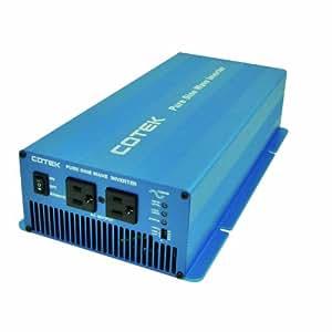 COTEK(コーテック) 正弦波インバーター 出力1500W/24V 周波数50/60Hz 歪み率3%以下 SKシリーズ SK1500-124