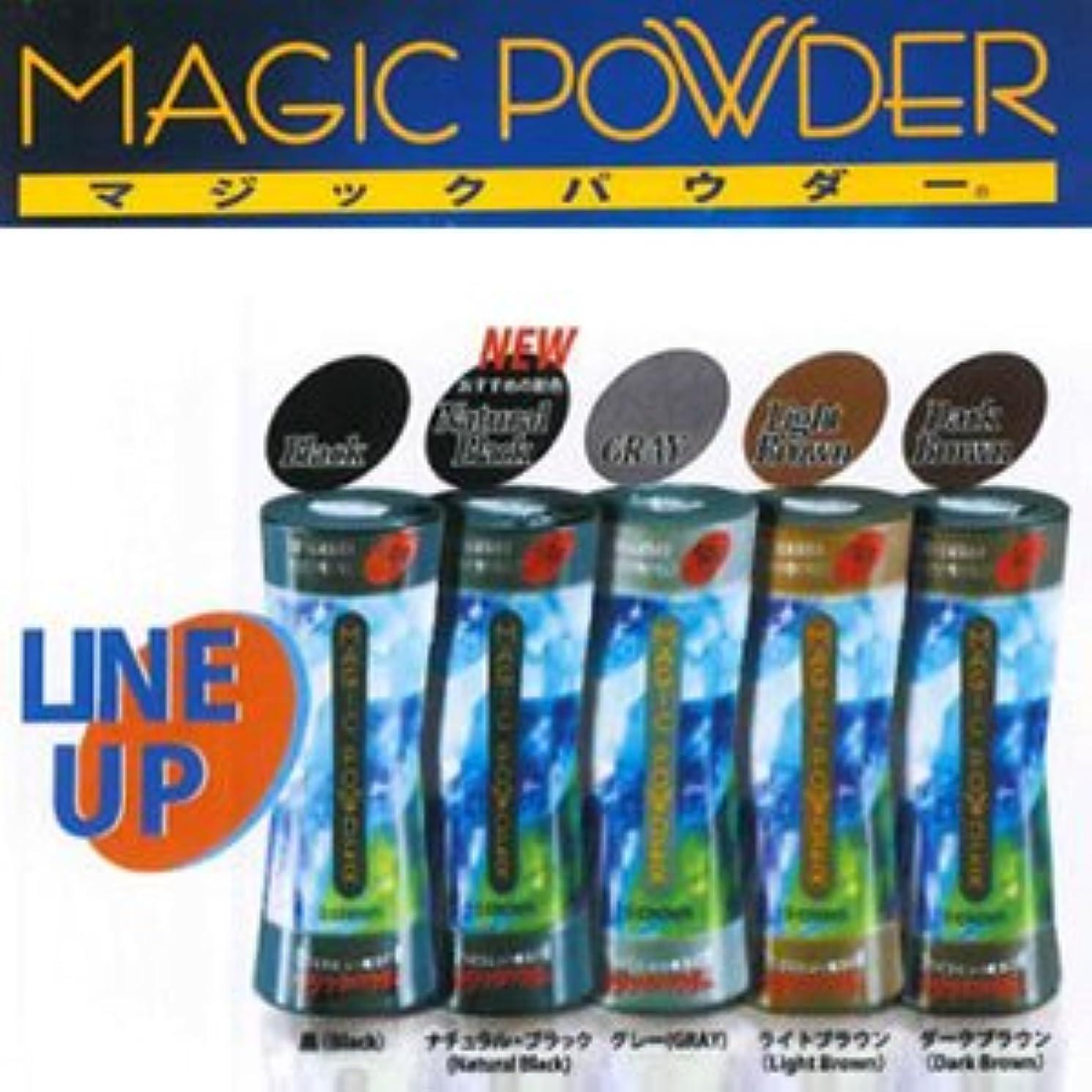 亜熱帯失望フィットMAGIC POWDER マジックパウダー ライトブラウン 50g  ※貴方の髪を簡単ボリュームアップ!