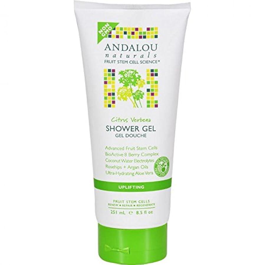 解き明かす毎回基準Shower Gel - Citrus Verbena Uplifting - 8.5 fl oz by Andalou Naturals