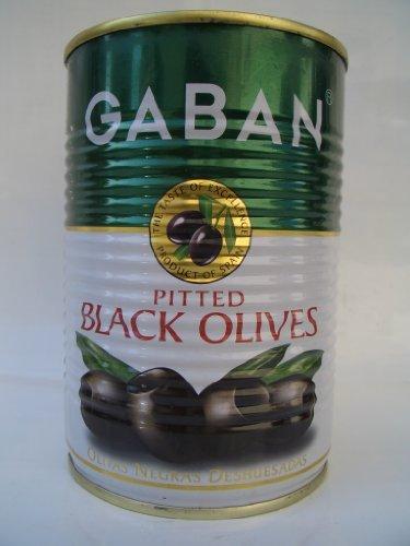 ギャバン ブラックオリーブ(種抜) 170g缶
