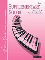 Supplementary Solos Level 1 (Frances Clark Library for Piano Students)