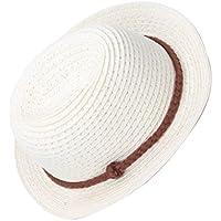 Baoblaze 18インチアメリカガールドール人形のため 麦わら帽子 帽子 ハット 2色 - ベージュ