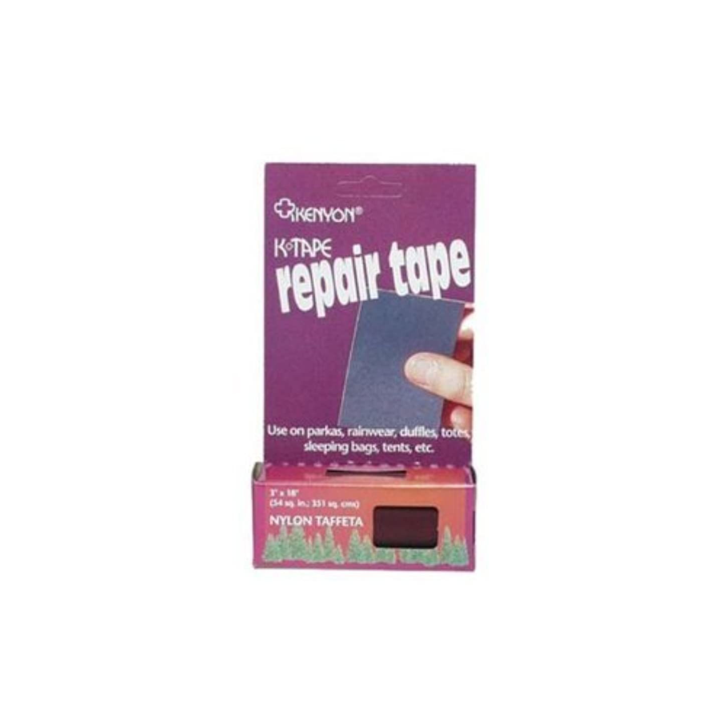熱心データ物足りないKENYON K-Tape Taffeta Repair Tape (Pack of 24), Assorted Color [並行輸入品]