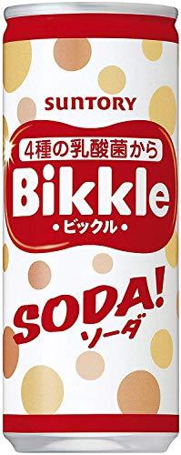サントリー ビックルソーダ 250ml缶 (30本入)×2ケース セット【旬の北海道クラブから発送】
