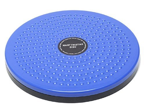 DietStyle ツイストボード スピンボード スピントレーナー ねじり運動 ウエスト バランス 体幹 回転軸 フィギュアスケート エクササイズ (ブルー)