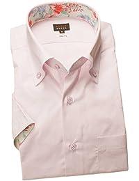 RSN692-002 (スタイルワークス) メンズ半袖ワイシャツ | 薄紅