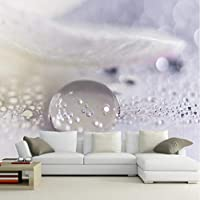 Lcymt ソファの背景3D壁画壁紙壁紙壁画のための大きい壁画水滴壁写真壁画壁紙-120X100Cm