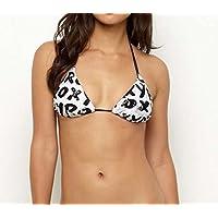 ロキシー ROXY 水着 Stoked Tiki Tri Bikini Topブラック NO25