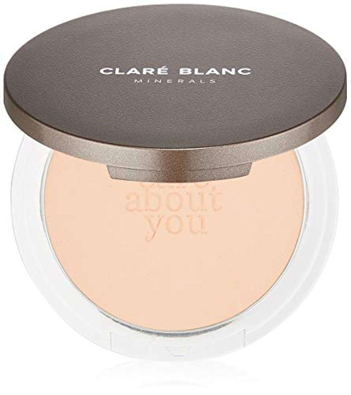 そこから柔らかさ宣伝CLARE BLANC(クラレブラン) ドリームプレストミネラルファンデ BEIGE330