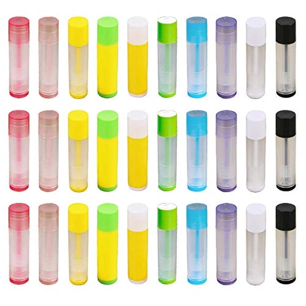 アドバイス慢性的投げ捨てるフェリモア リップクリーム チューブ 容器 ボトル 詰め替え用 ホームメイド用 100個セット