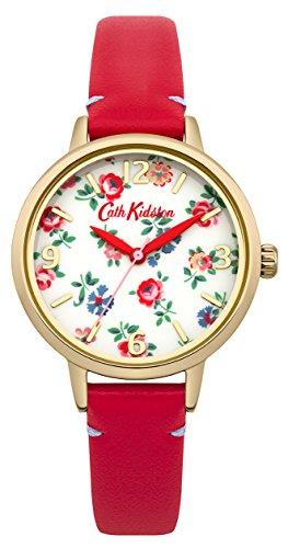 [キャスキッドソン]Cath Kidston 腕時計 3針 花柄 CKL006RG レディース 【正規輸入品】