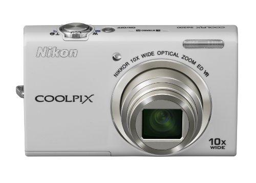Nikon デジタルカメラ COOLPIX (クールピクス) S6200 ナチュラルホワイト S6200WH