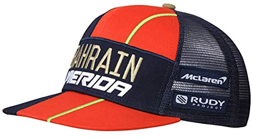 包囲縫う中2019 Bahrain merida 表彰台キャップ メリダ