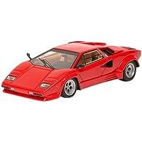 メイクアップ EIDOLON 1/43 ランボルギーニ カウンタック LP5000 クアトロバルボーレ 1985 ウイング?レス レッド 完成品