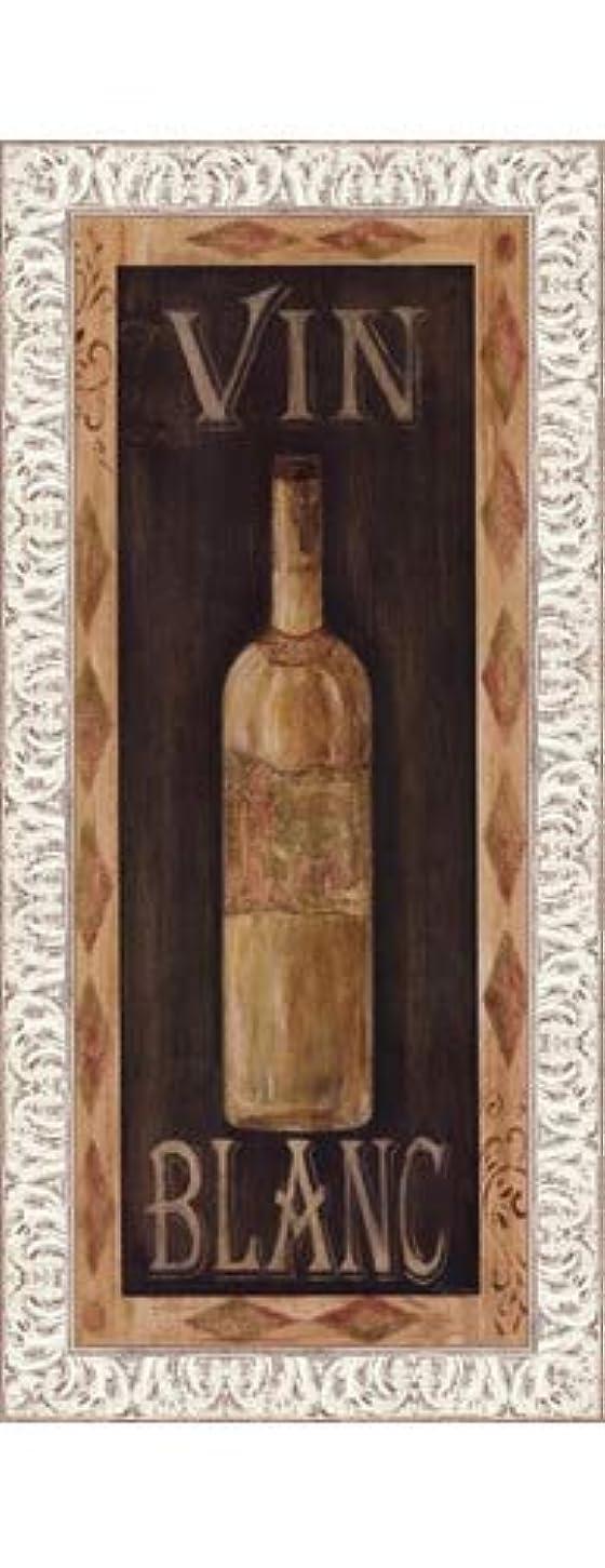 スポンサー気楽な接ぎ木Vin Blanc by Grace Pullen – 8 x 20インチ – アートプリントポスター LE_467954-F9711-8x20