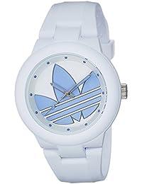アディダス ADIDAS アバディーン クオーツ ユニセックス 腕時計 ADH3142 ホワイト/パステルブルー [並行輸入品]