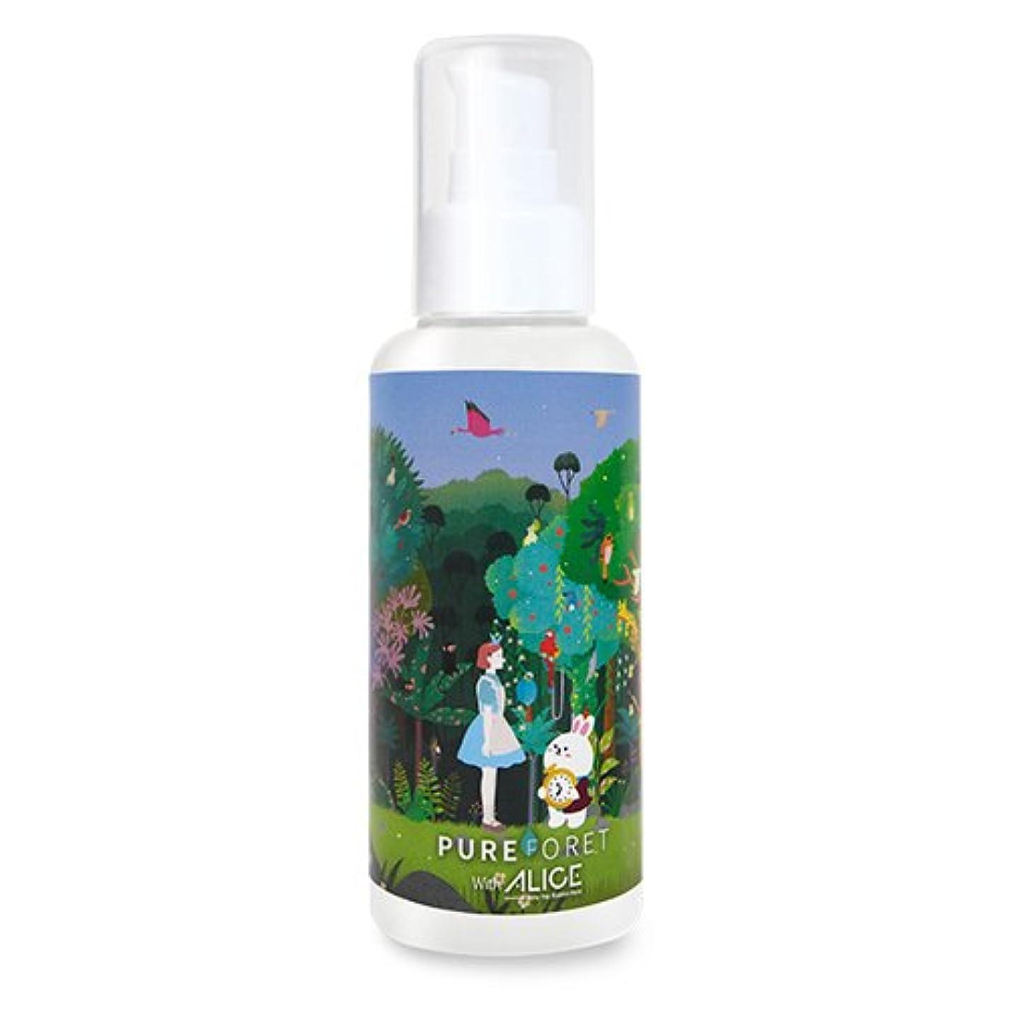 難民十年暗唱する韓国産 Pureforet x Alice スキンリペア ハイドレーティング スキン 化粧水 (150ml)