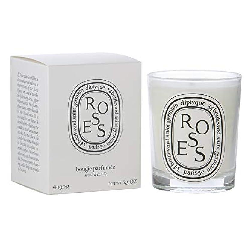 ゆりかごほのめかす目指す[Diptyque] Diptyqueバラの香りのキャンドル190グラム - Diptyque Roses Scented Candle 190g [並行輸入品]
