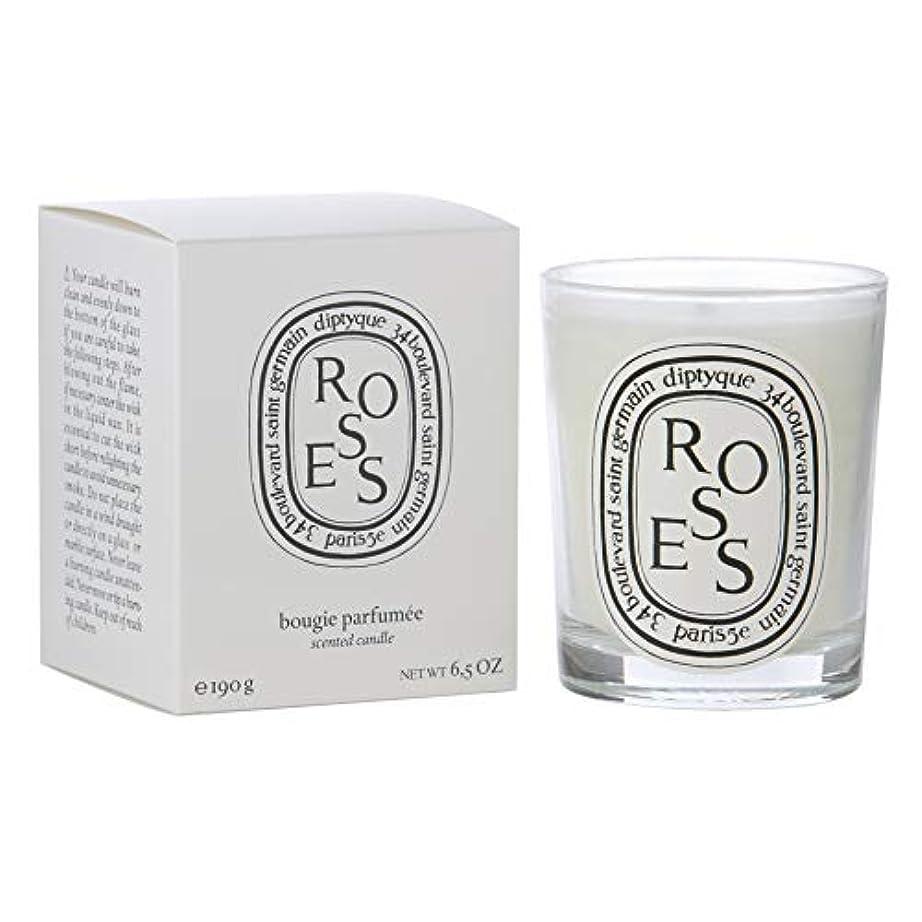お手伝いさんパターン寄付する[Diptyque] Diptyqueバラの香りのキャンドル190グラム - Diptyque Roses Scented Candle 190g [並行輸入品]