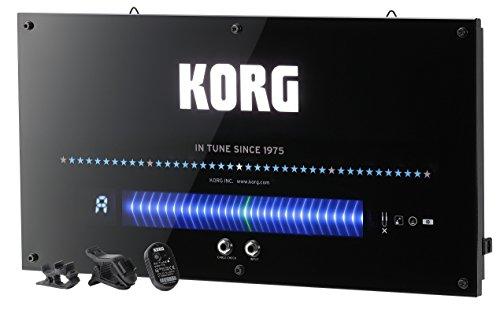 KORG ワイヤレス機能搭載 壁掛けチューナー ギター/ベース用 WDT-1
