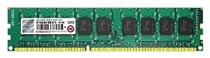 Transcend サーバー ワークステーション用メモリ PC3-10600 DDR3 1333 4GB 1.5V 240pin ECC DIMM (無期限保証) TS512MLK72V3N