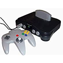 Nintendo 64 (N64) Console with All Cords & 1 Genuine Controller (Renewed)