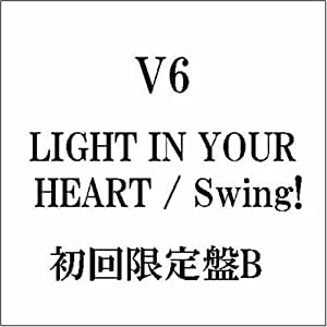 LIGHT IN YOUR HEART(初回限定盤B)(DVD付)