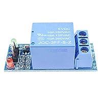 2ピース一つ1チャンネルリレーモジュール5ボルト低レベルトリガインタフェースボードシールドdc ac 220ボルト用arduinoのpic avr dspアームmcu