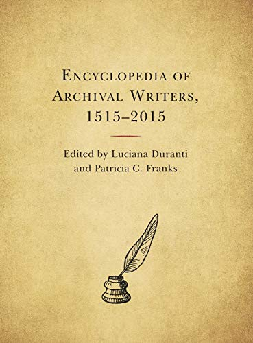 Download Encyclopedia of Archival Writers, 1515-2015 153812579X