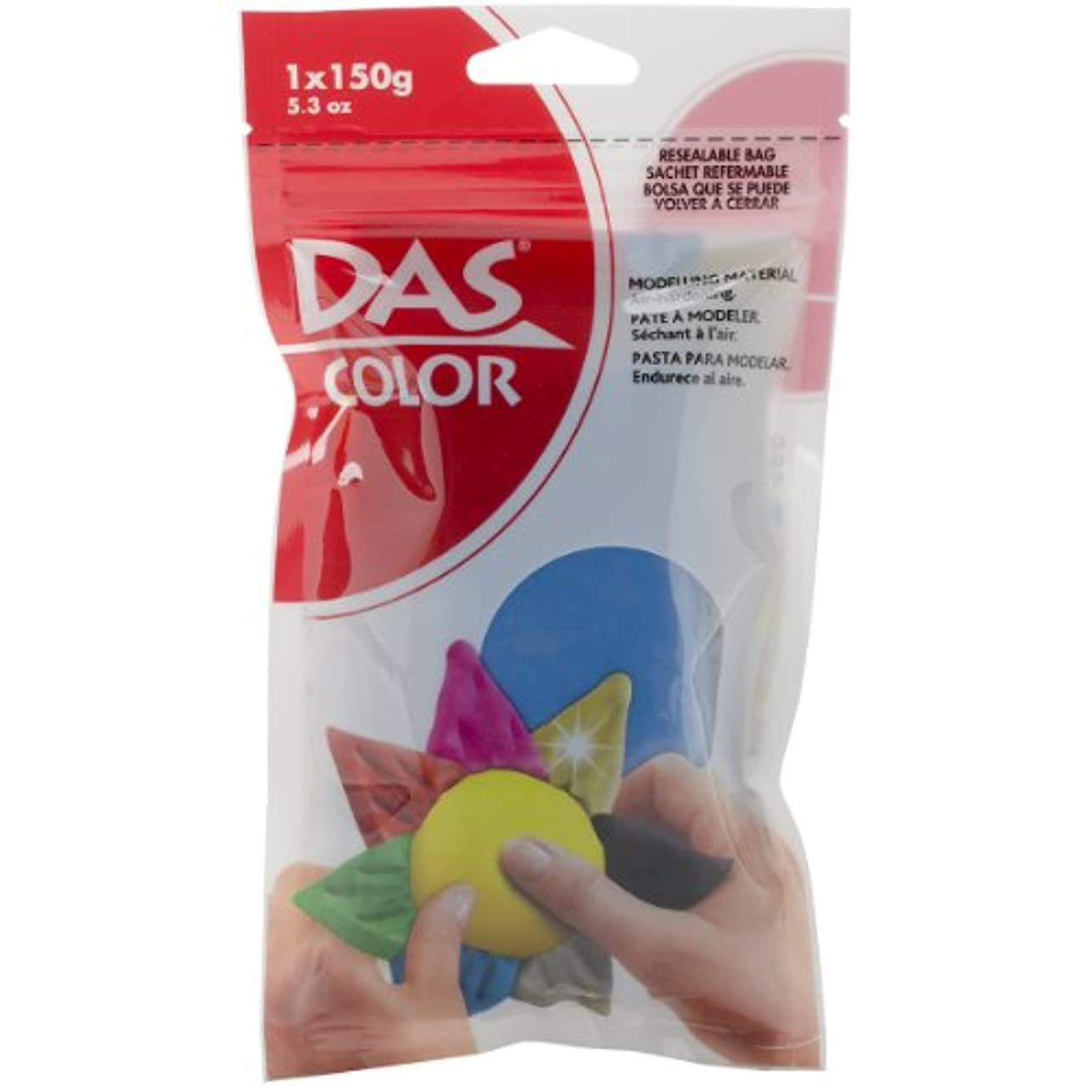 ドール業界実験Das 色空気乾燥粘土 5.3 オンス ターコイズ