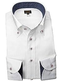 RSD178-001 (スタイルワークス) メンズ長袖ワイシャツ チェック | 白