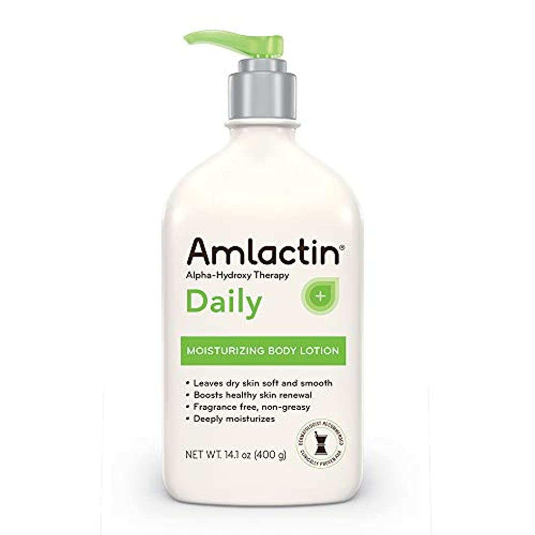 等しい体極地AmLactin 12% Moisturizing Lotion - 14 oz (400 gm)
